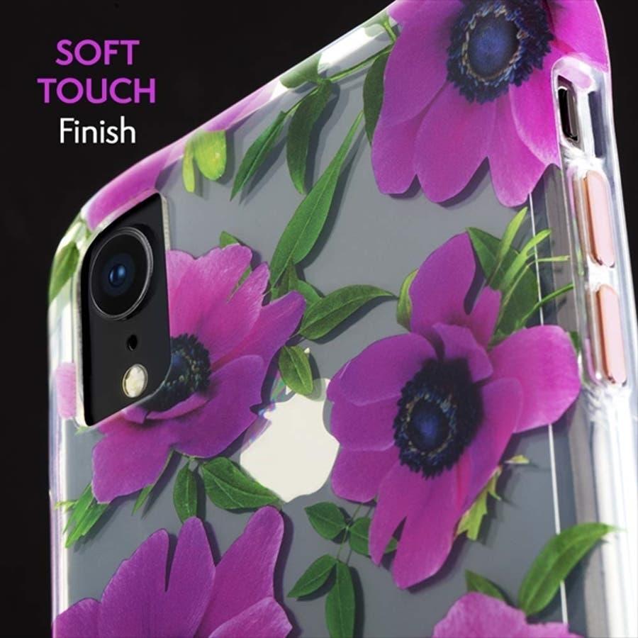 iPhoneXR対応ケース Wallpapers-Pink Poppy 2