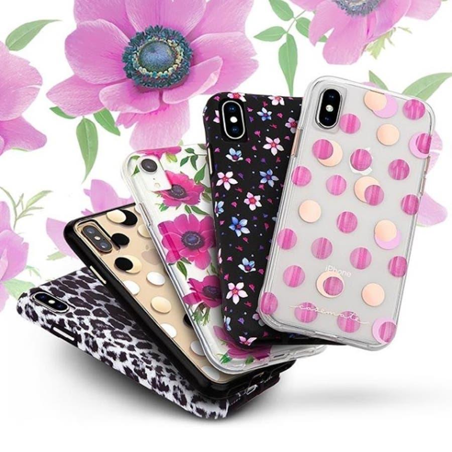 iPhoneXR対応ケース Wallpapers-Pink Poppy 7