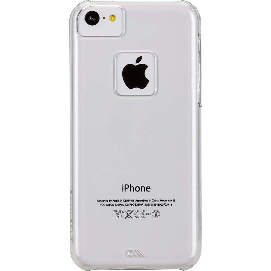 iPhone 5c 対応ケースBarely There Case, Clear 1
