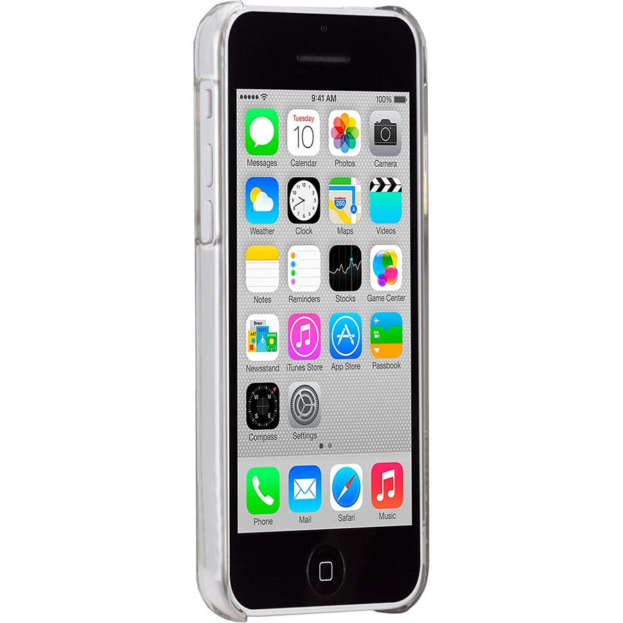 iPhone 5c 対応ケースBarely There Case, Clear 4