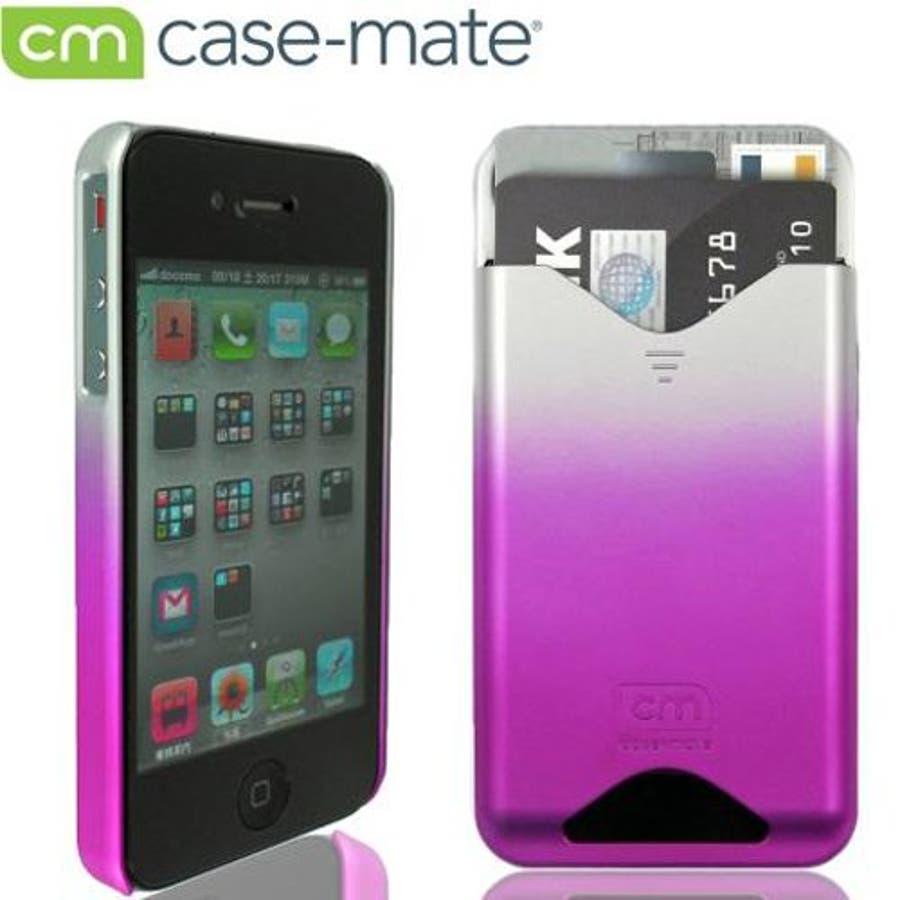 iPhone 4S/4 対応ケース ID Case, Matte Royal Pink 1
