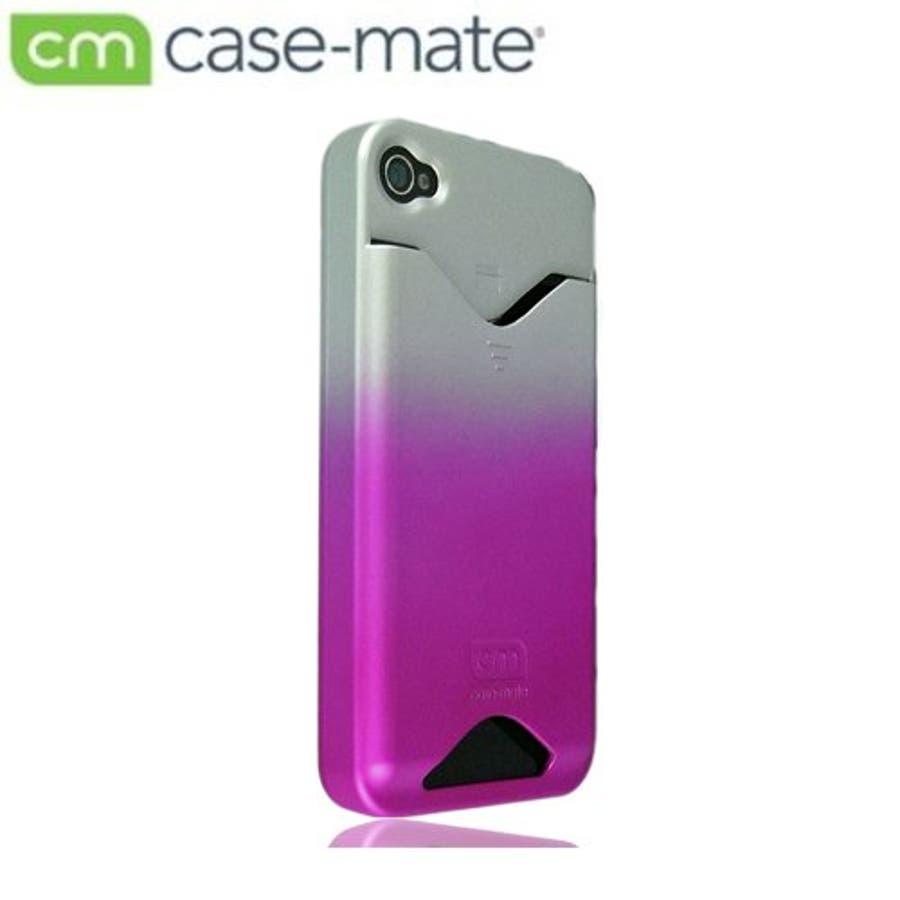 iPhone 4S/4 対応ケース ID Case, Matte Royal Pink 2