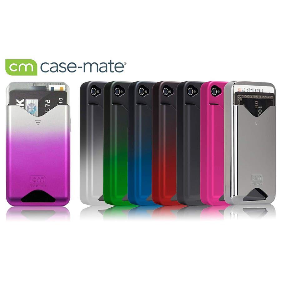 iPhone 4S/4 対応ケース ID Case, Matte Royal Pink 4