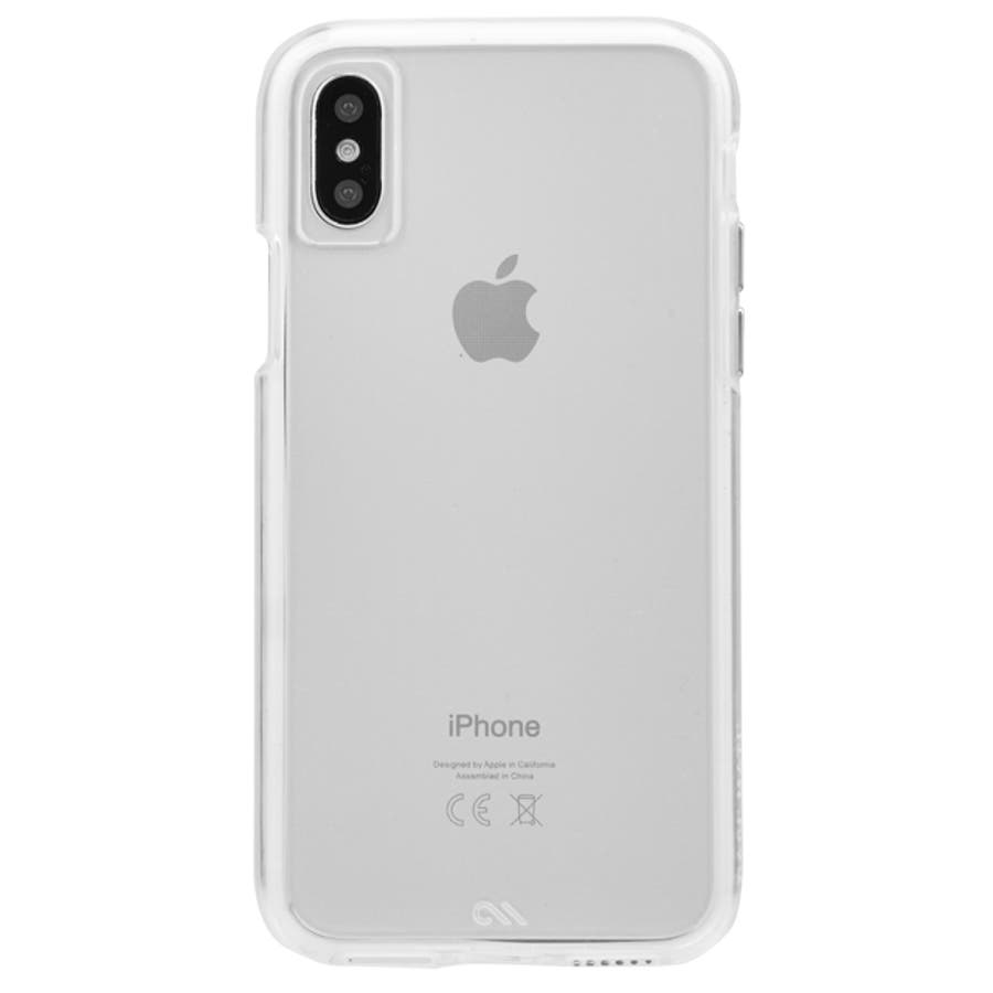 iPhoneXS/X Tough Clear 3
