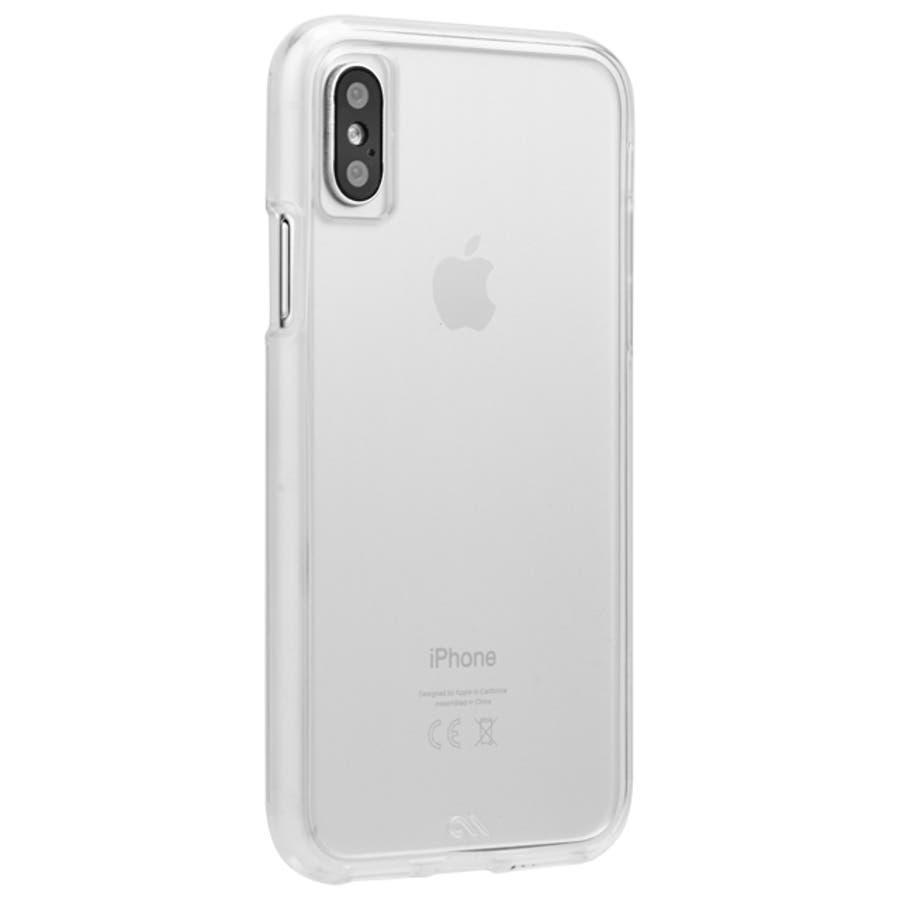 iPhoneXS/X Tough Clear 4