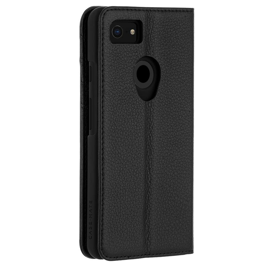 Google Pixel3 対応ケース Wallet Folio-Black 2