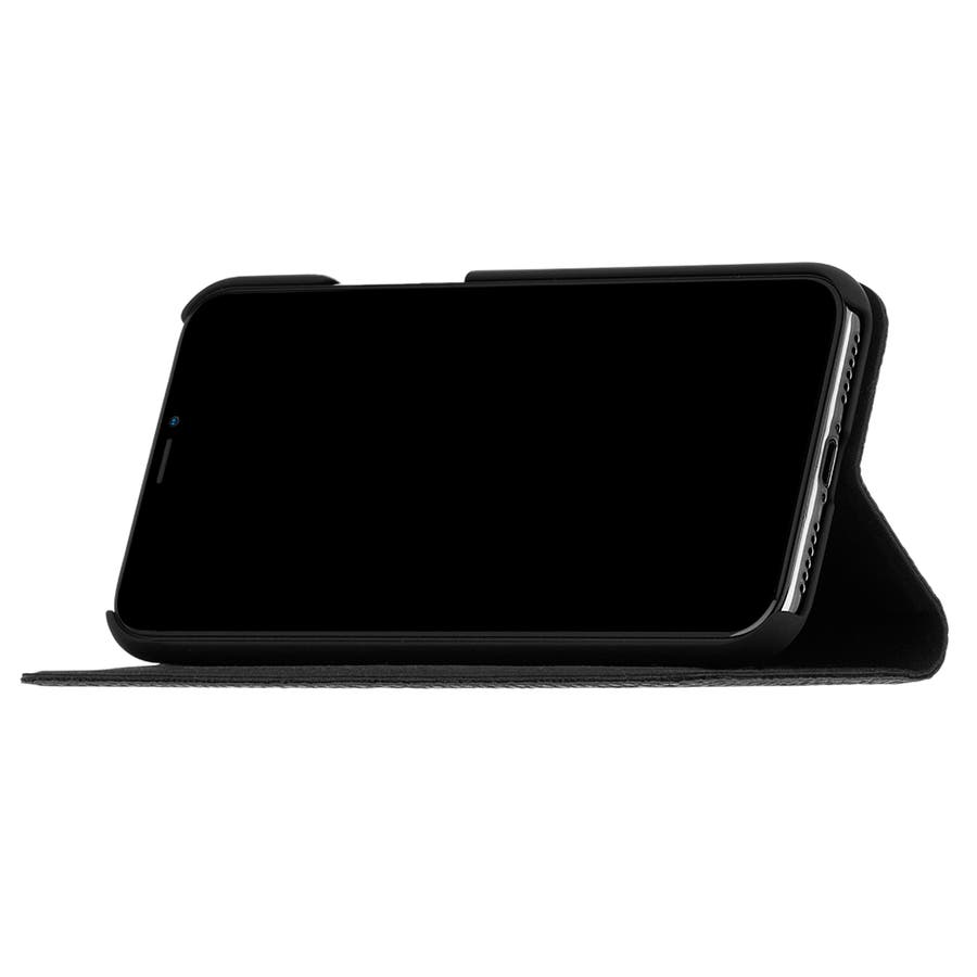 Google Pixel3 対応ケース Wallet Folio-Black 5