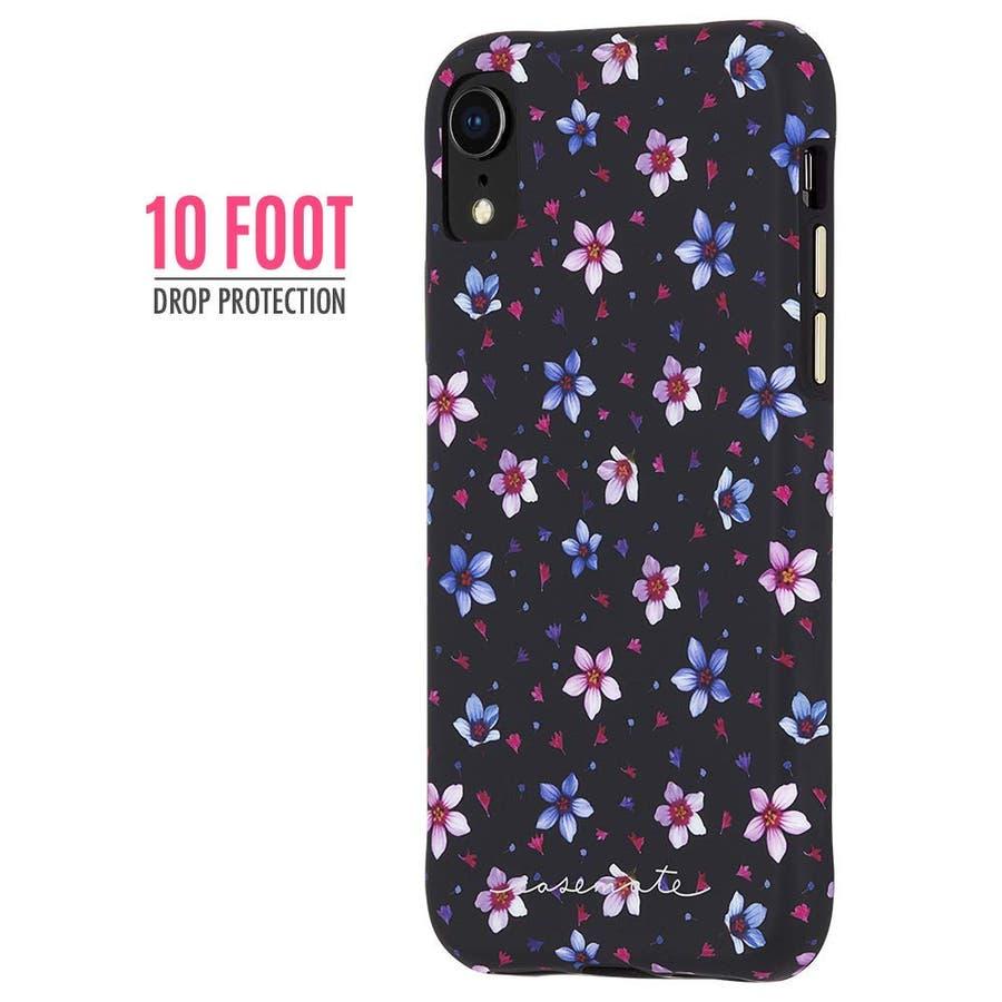 iPhoneXR対応ケース Wallpapers-Floral Garden 2