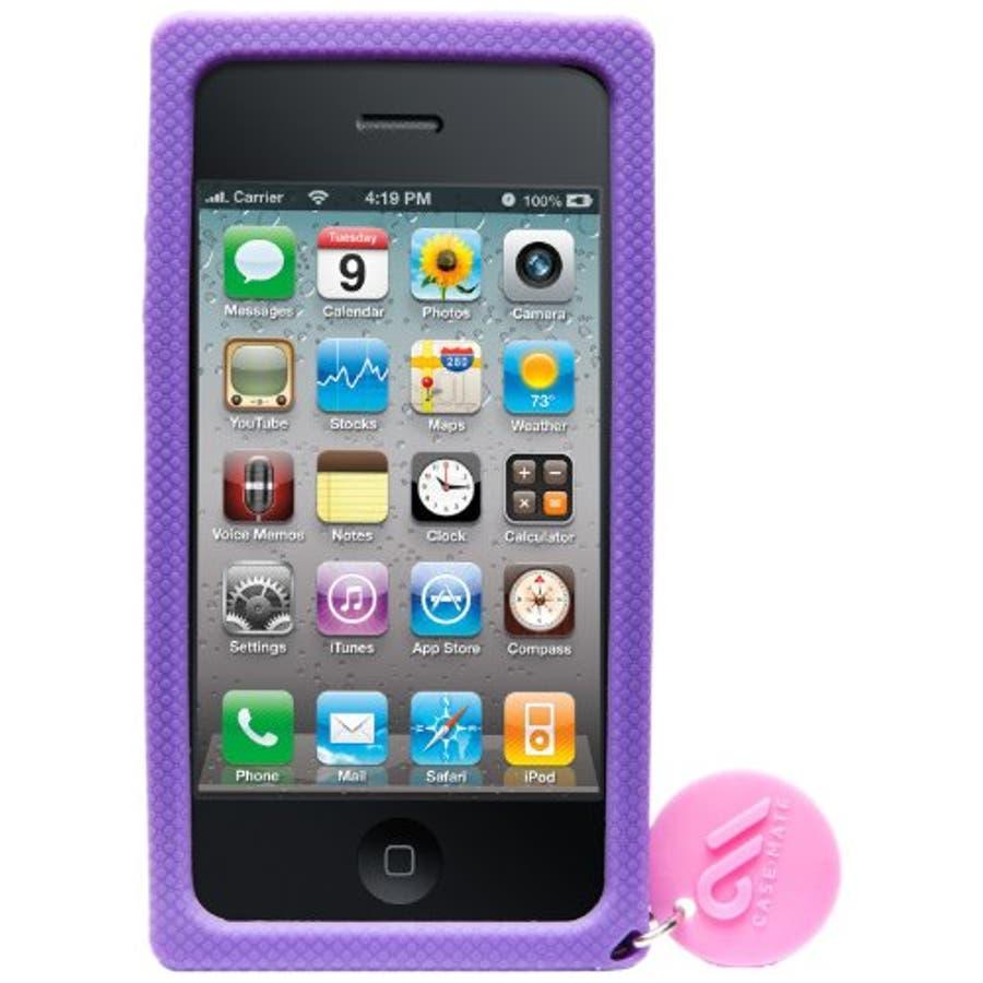 iPhone 4S/4 対応ケース Creatures: Lolly Pop, Violet 2
