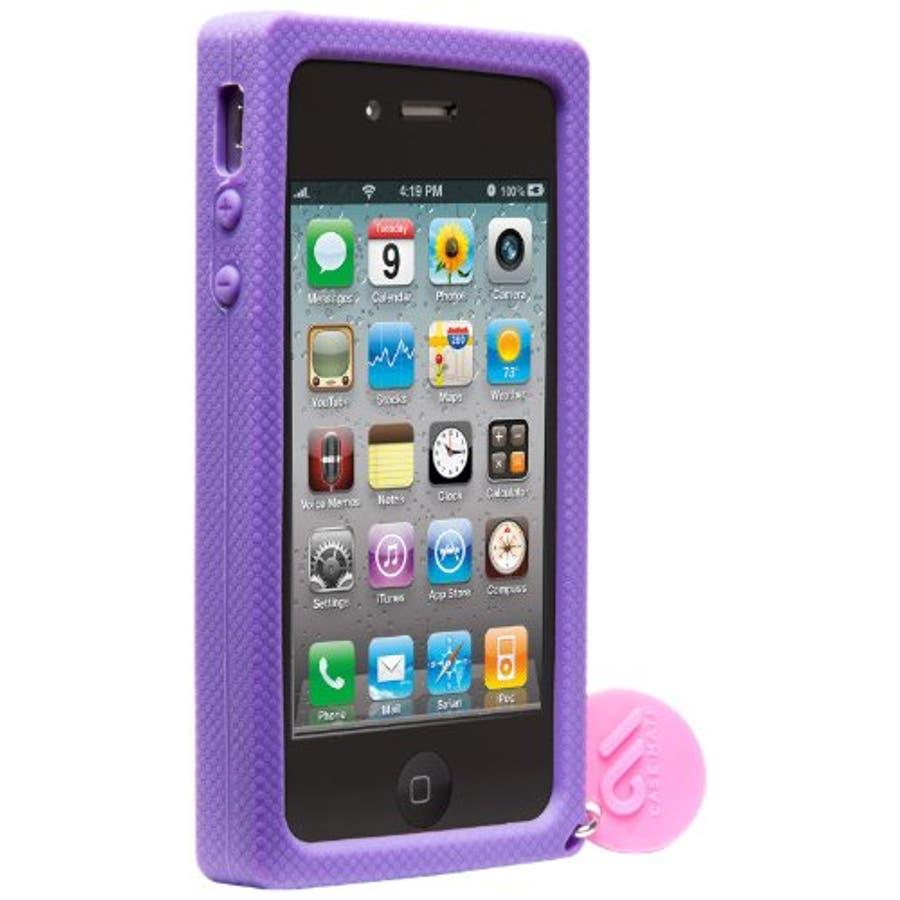 iPhone 4S/4 対応ケース Creatures: Lolly Pop, Violet 3