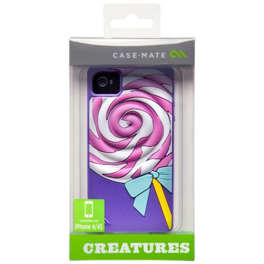 iPhone 4S/4 対応ケース Creatures: Lolly Pop, Violet 5