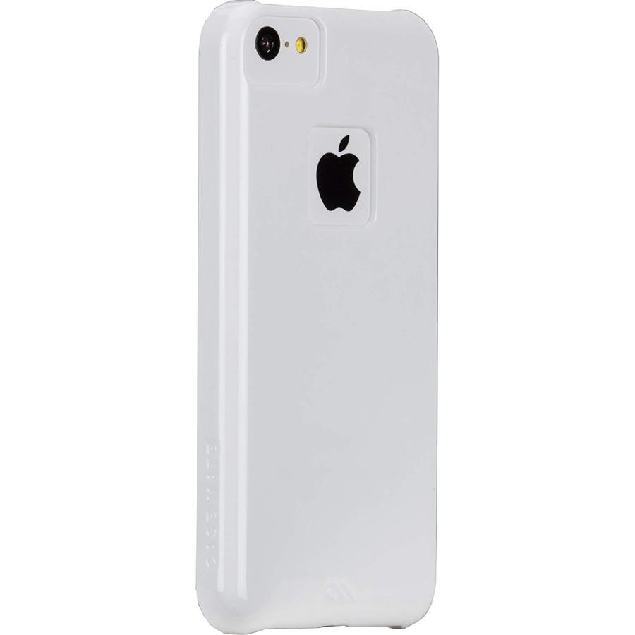 iPhone 5c 対応ケースBarely There Case, Glossy White 1