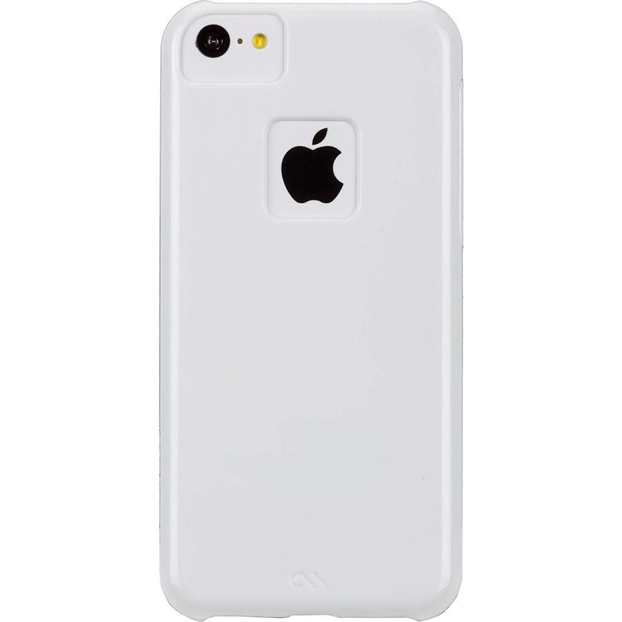 iPhone 5c 対応ケースBarely There Case, Glossy White 3