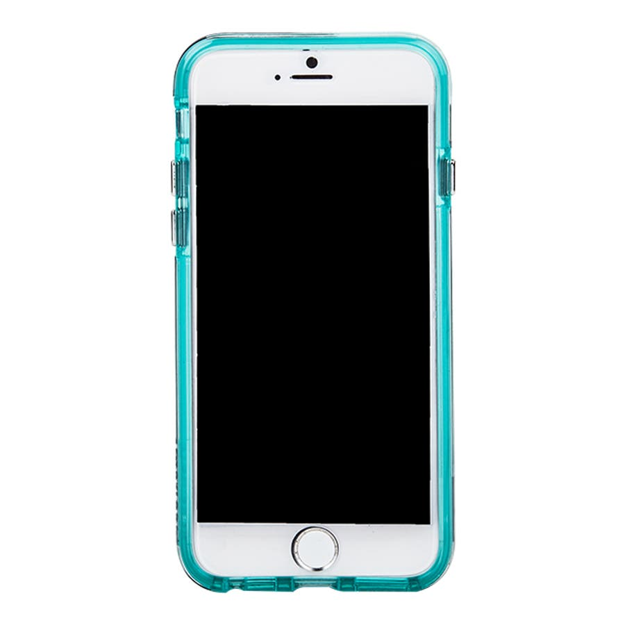 iPhone SE(第2世代) / iPhone8 対応 Tough Translucent -Clear / Green 4