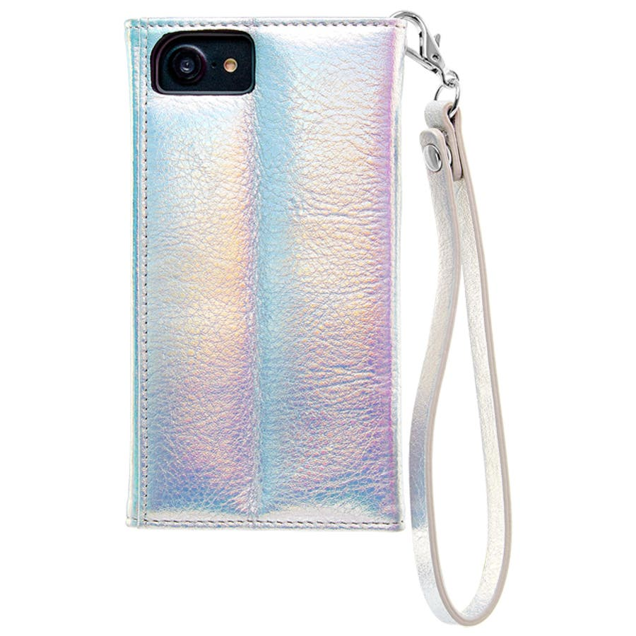 iPhone SE(第2世代)/8/7/6s/6対応ケース Wristlets Folio Iridescent 3