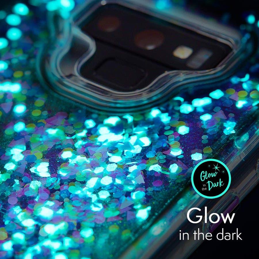 Galaxy Note9 対応ケース Waterfall Glow-Purple 1