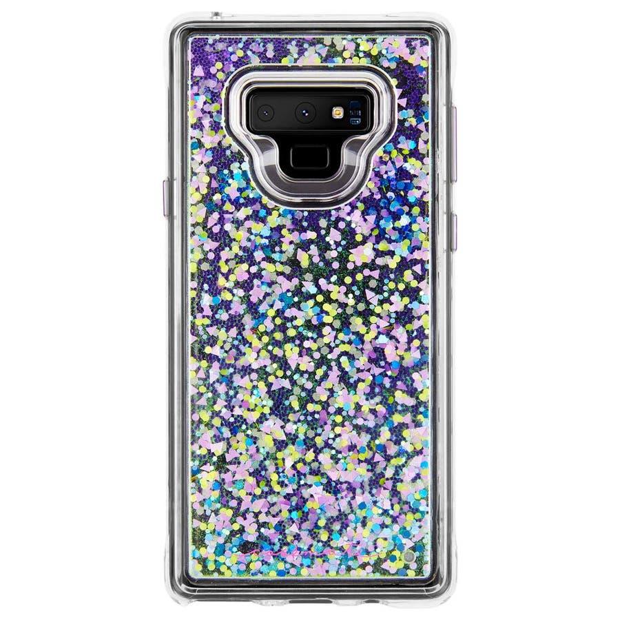 Galaxy Note9 対応ケース Waterfall Glow-Purple 2
