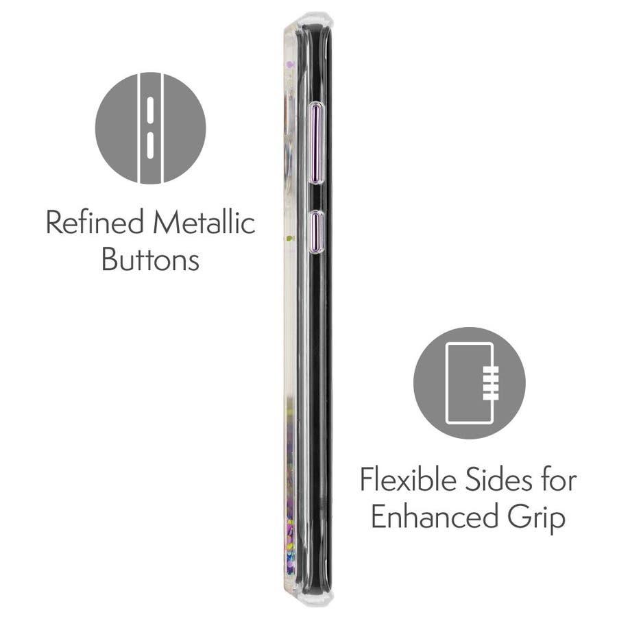 Galaxy Note9 対応ケース Waterfall Glow-Purple 4