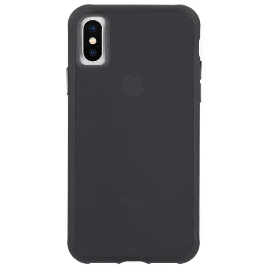 iPhoneXS/X対応ケース Tough-Matte Black 2
