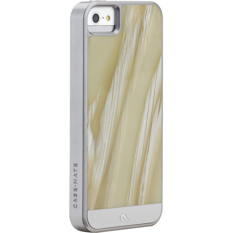 iPhone SE/5s/5 対応ケース Crafted Case Acetates, White Horn 1