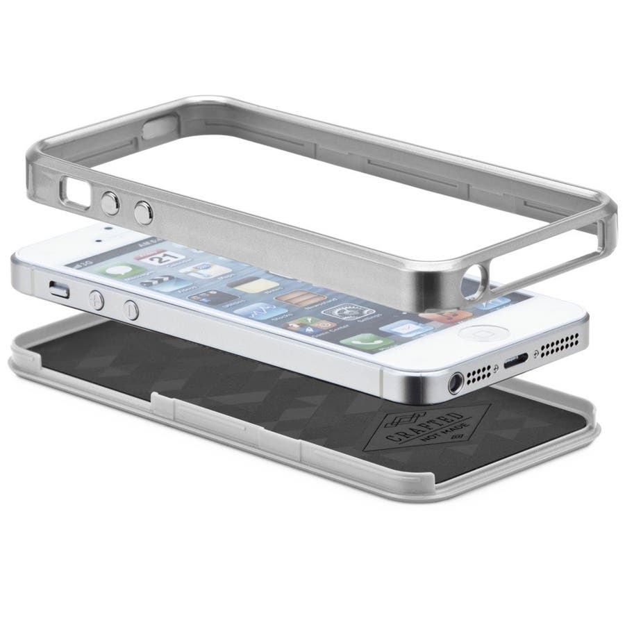 iPhone SE/5s/5 対応ケース Crafted Case Acetates, White Horn 3