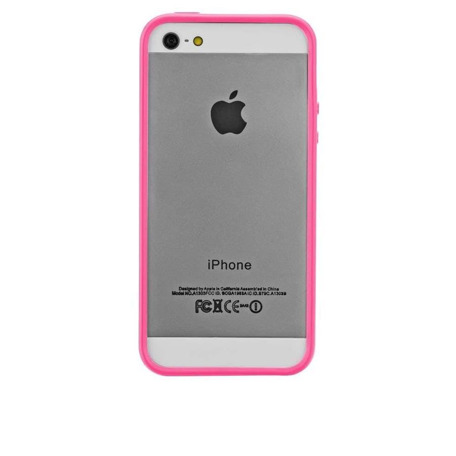 iPhone SE/5s/5 対応ケース Hula, Pink フレームスタイルケース 1