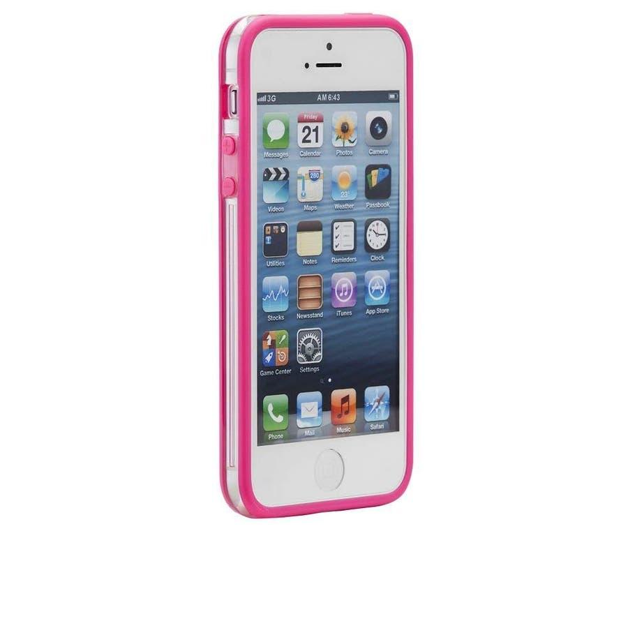 iPhone SE/5s/5 対応ケース Hula, Pink フレームスタイルケース 4