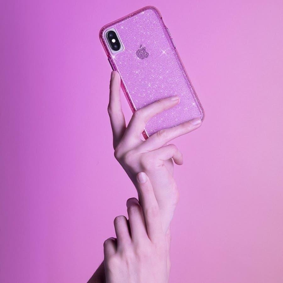 iPhoneXS Max対応ケース Sheer Crystal-Blush 2