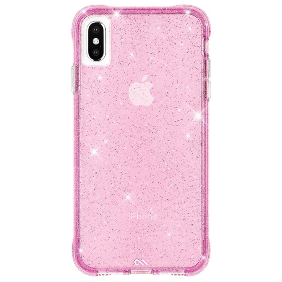 iPhoneXS Max対応ケース Sheer Crystal-Blush 4