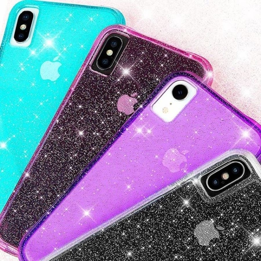 iPhoneXS Max対応ケース Sheer Crystal-Blush 8