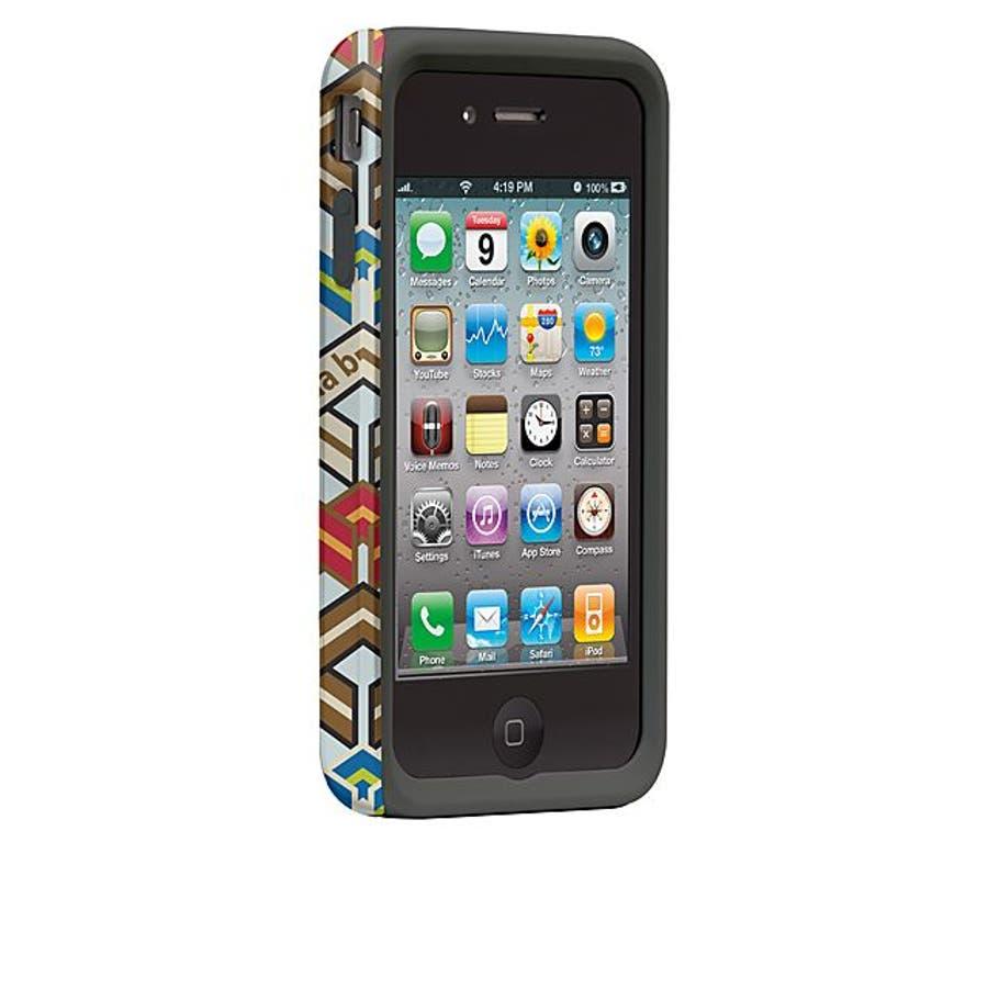 iPhone 4S/4 対応ケース Hybrid Tough Case, Cinda B - Ravinia 2