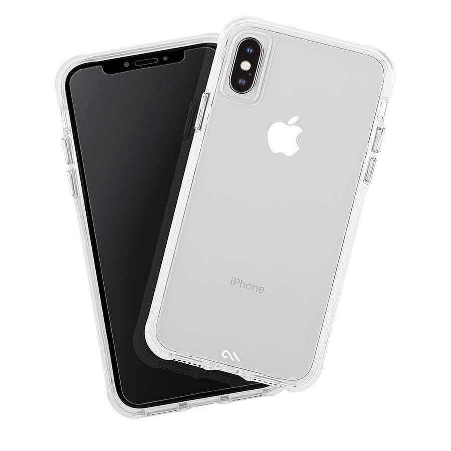 iPhoneXS/X 対応ケース Tough Clear & Screen Protector 1