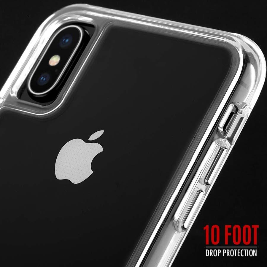 iPhoneXS/X 対応ケース Tough Clear & Screen Protector 4