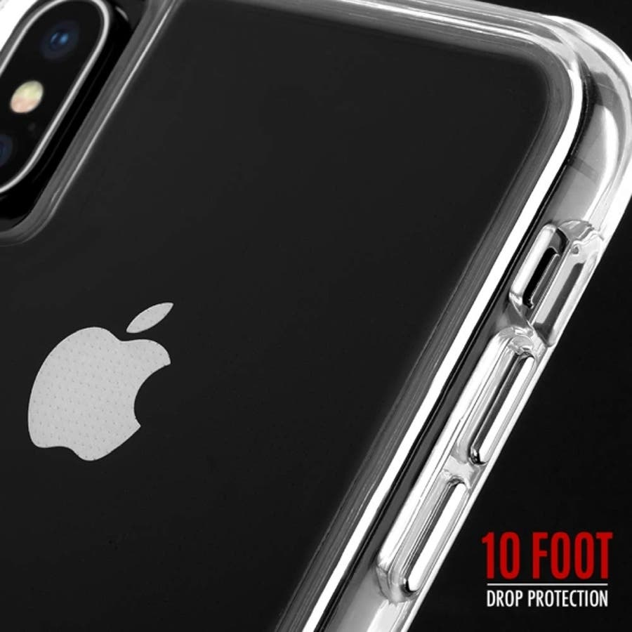 iPhoneXS Max対応ケース Tough Clear-Clear 1