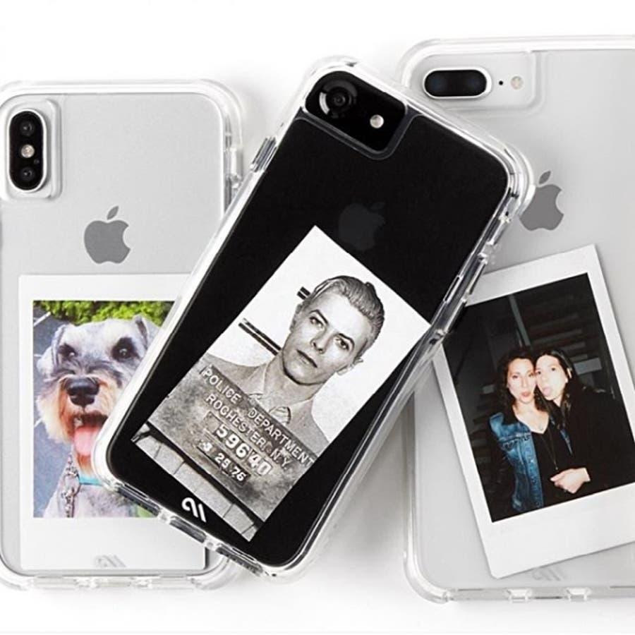 iPhoneXS Max対応ケース Tough Clear-Clear 10