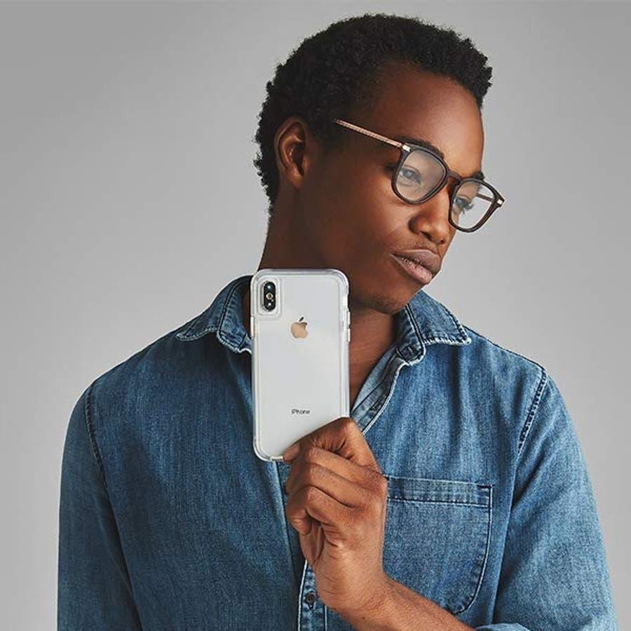 iPhoneXS Max対応ケース Tough Clear-Clear 3