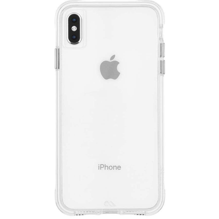iPhoneXS Max対応ケース Tough Clear-Clear 4