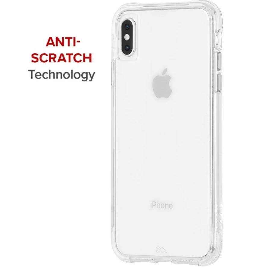 iPhoneXS Max対応ケース Tough Clear-Clear 5
