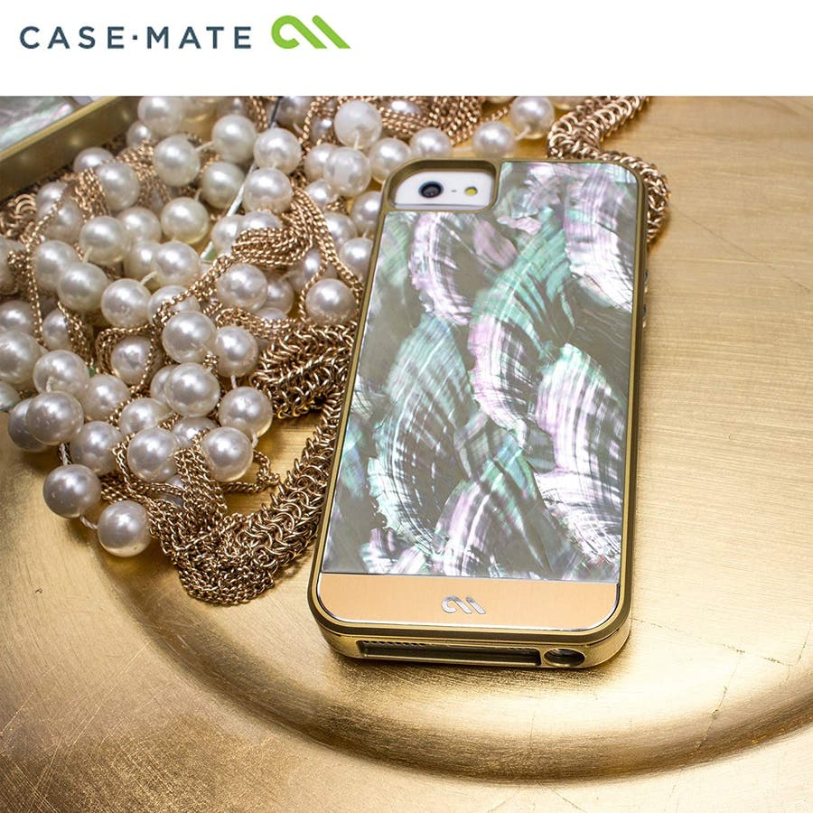 iPhone SE/5s/5 対応ケース Crafted Case Pearl, Black 1