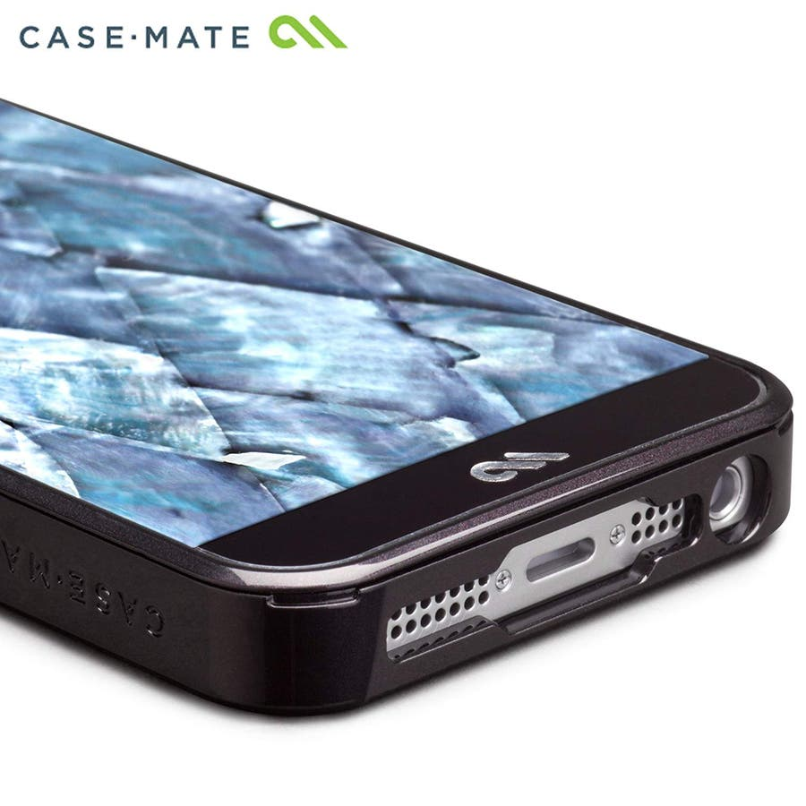 iPhone SE/5s/5 対応ケース Crafted Case Pearl, Black 7