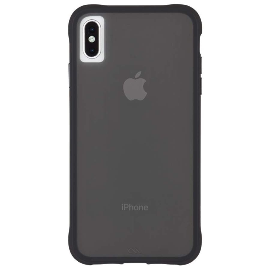 iPhoneXS Max対応ケース Tough-Matte Black 3