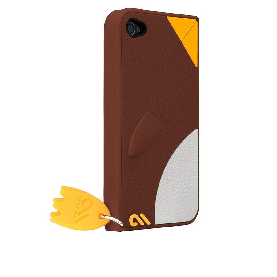 iPhone 4S/4 対応ケース Creatures: Waddler Case, Brown 1