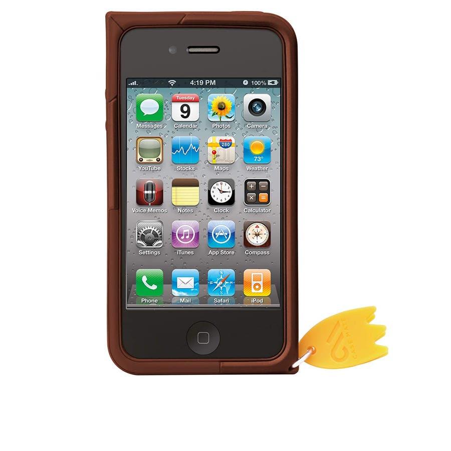 iPhone 4S/4 対応ケース Creatures: Waddler Case, Brown 4