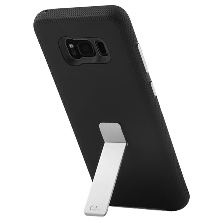 Galaxy S8+対応ケース Hybrid Tough Stand-Black 5