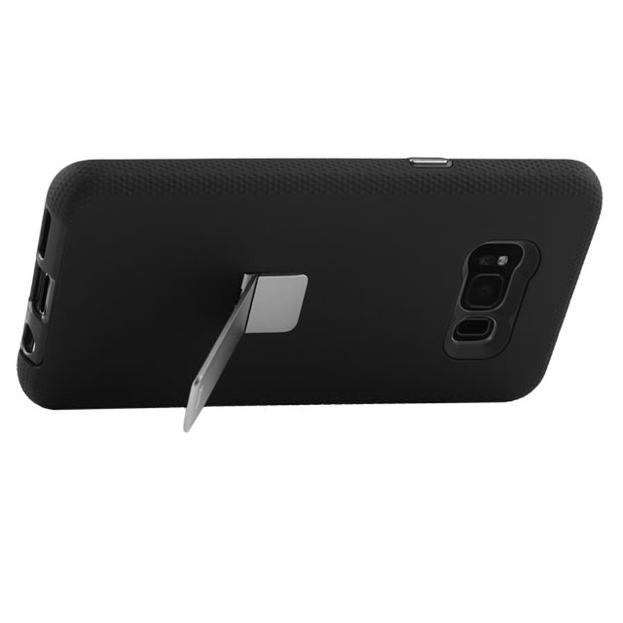 Galaxy S8+対応ケース Hybrid Tough Stand-Black 6