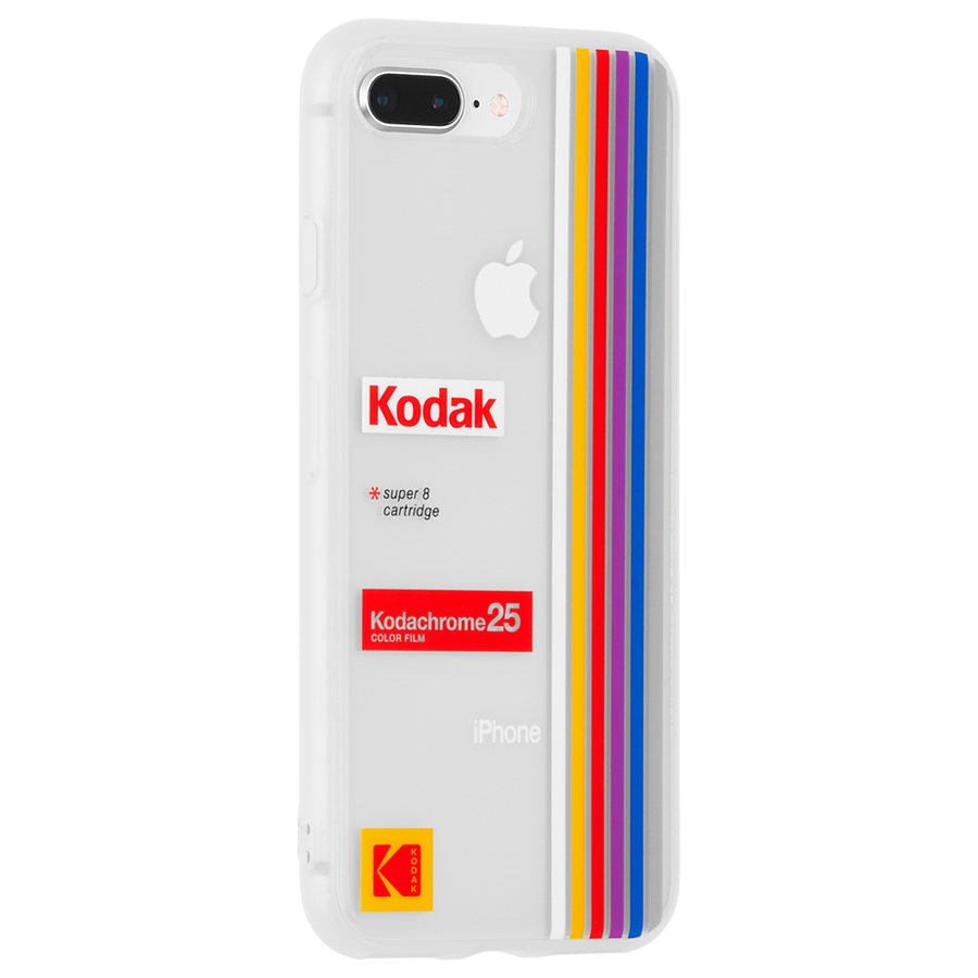 【Case-Mate×Kodak コラボレーション】 iPhone 8Plus / 7Plus / 6sPlus /6PlusKodak Striped Kodachrome Super 8 2