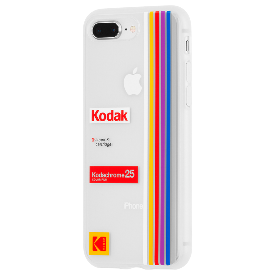 【Case-Mate×Kodak コラボレーション】 iPhone 8Plus / 7Plus / 6sPlus /6PlusKodak Striped Kodachrome Super 8 3