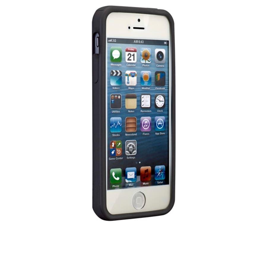 iPhone SE/5s/5 対応ケース Cloud Case, Black 2