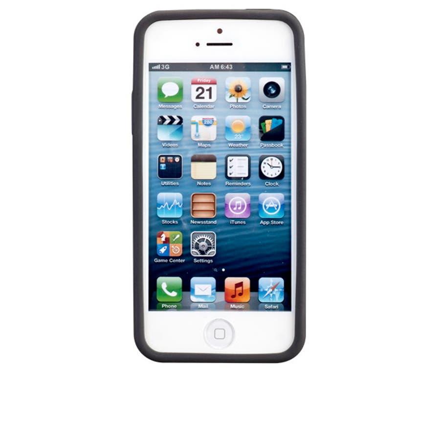 iPhone SE/5s/5 対応ケース Cloud Case, Black 4