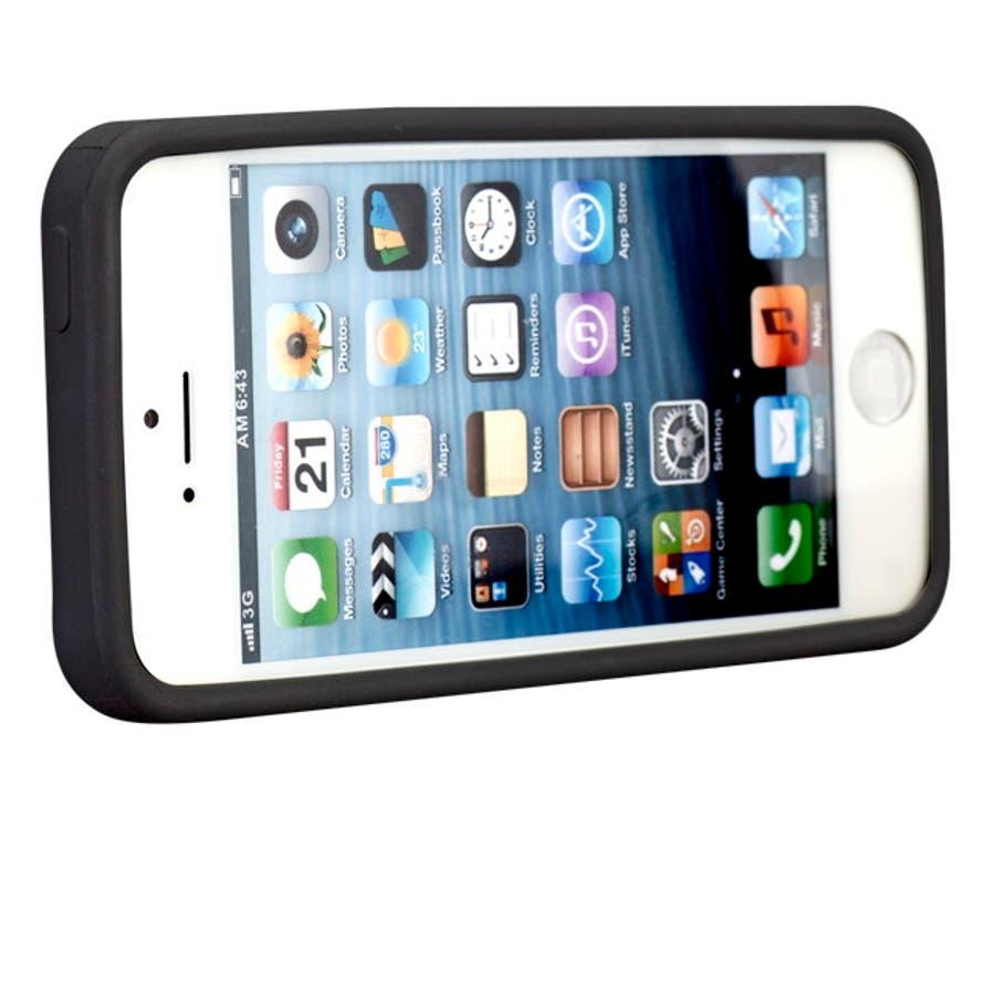 iPhone SE/5s/5 対応ケース Cloud Case, Black 7